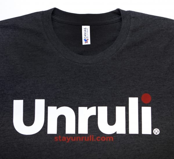 unruly t-shirt made in USA