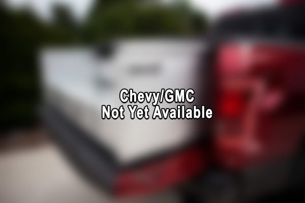 Chevy tonneau cover and cargo box